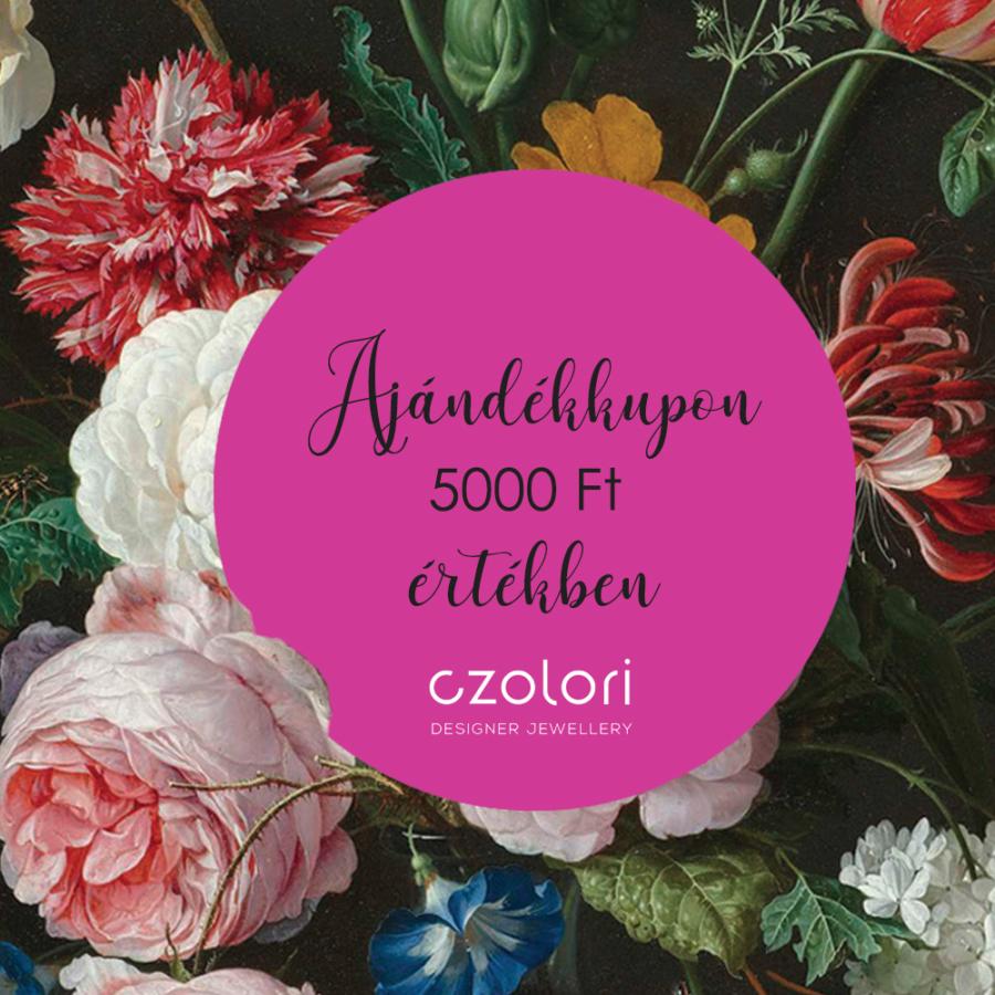AJÁNDÉKKUPON 5000 Ft ÉRTÉKBEN