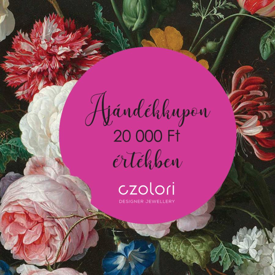 AJÁNDÉKKUPON 20000 Ft ÉRTÉKBEN