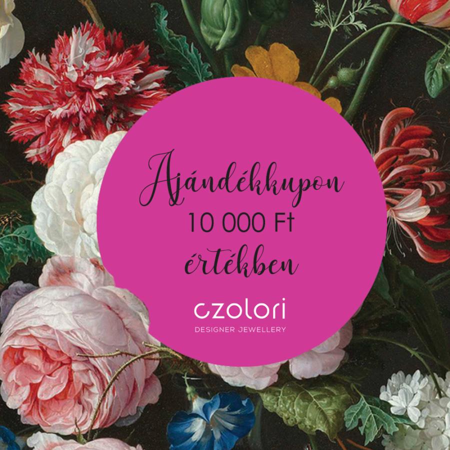 AJÁNDÉKKUPON 10000 Ft ÉRTÉKBEN